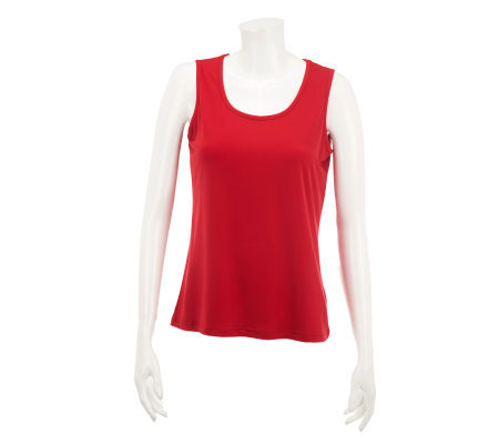 Quacker Factory DreamKnit Sleeveless Solid Tank