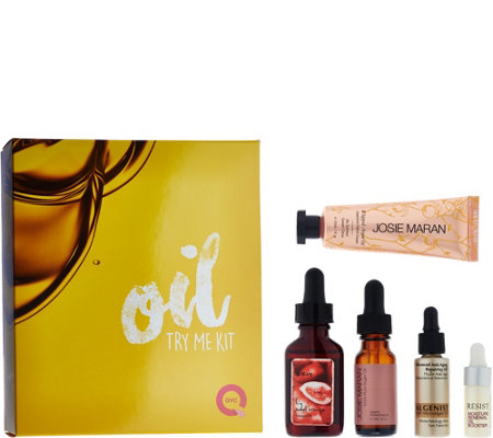 QVC Beauty 5-piece Oil Kit