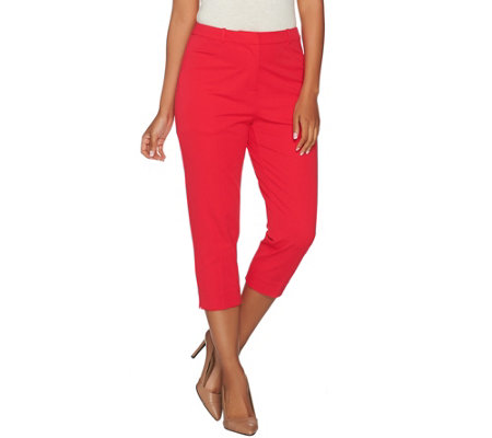 Susan Graver Coastal Stretch Capri Pants