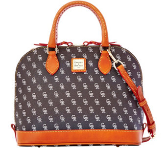 Dooney & Bourke MLB Rockies Zip Zip Satchel - A280116