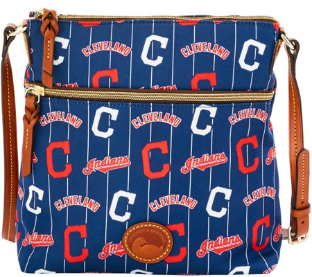 Dooney & Bourke MLB Nylon Indians Crossbody