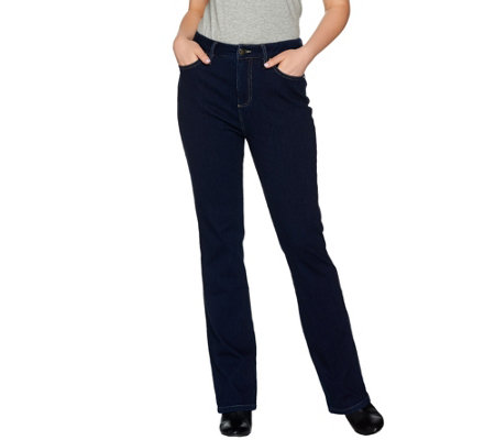 Belle by Kim Gravel Flexibelle Reg 5-Pocket Boot Cut Jeans