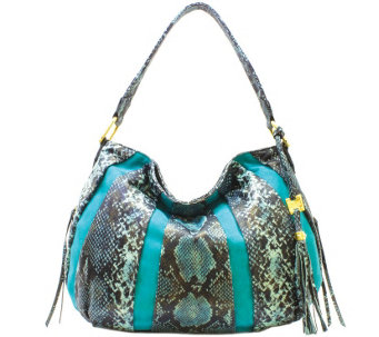 Aimee Kestenberg Pebble Leather & Suede Hobo- Tuscany - A282316
