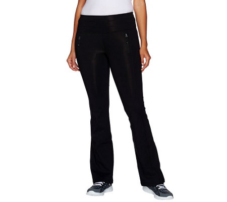 """As Is"" cee bee CHERYL BURKE Petite Bootcut Pants"