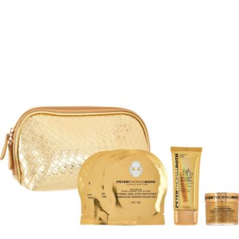 Peter Thomas Roth 3-piece Gold Kit 2.0 with Bag