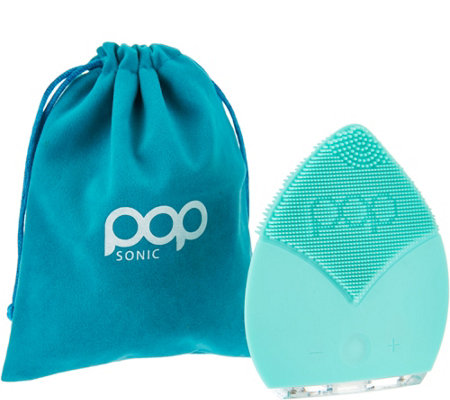 Pop Sonic The Leaf Sonic Facial Cleansing Device