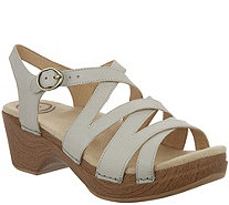 Dansko Leather Multi-Strap Sandals - Stevie - A289116