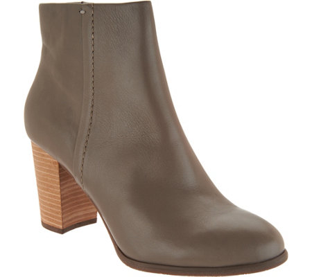 Vionic Leather Ankle Boots - Kennedy
