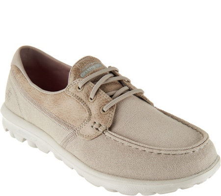 Skechers On-the-GO Boat Shoes with Goga Mat -