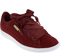 PUMA Suede Lace-up Sneakers - Vikky Ribbon - A294016