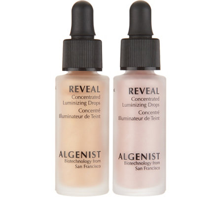 Algenist REVEAL Drop and Glow Luminizing Duo