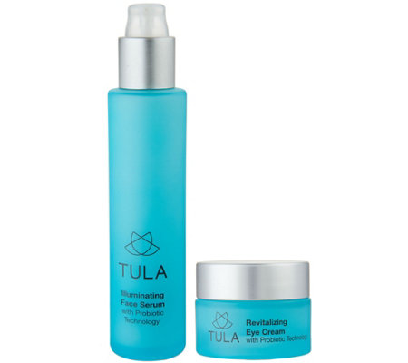 TULA Eye Cream & Illuminating Serum Duo