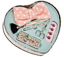 The Vintage Cosmetic Company Girls Night In Tin Set - A302916
