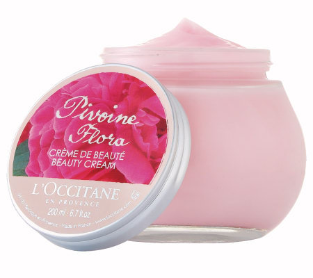 L'Occitane Pivoine Flora Beauty Cream 7 oz