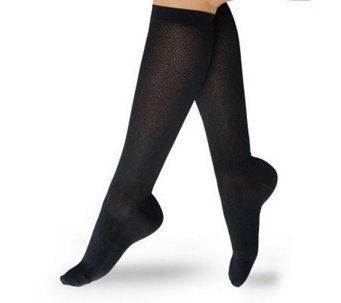 Preggers Diamond Trouser Socks with Light Gradient Compression - A324116