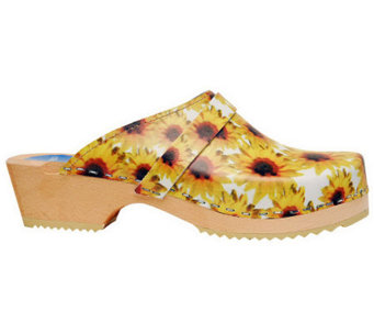 Cape Clogs Sunflowers Style Clogs - A329216