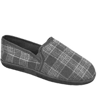 MUK LUKS Men's Plaid Slippers - A331816