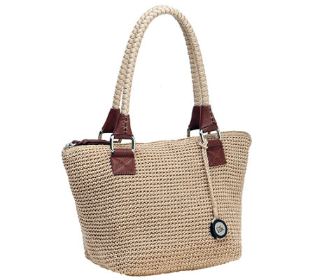 The Sak Cambria Crochet Medium Satchel