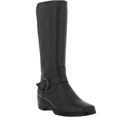 Spring Step Tall Leather Boots - Abha