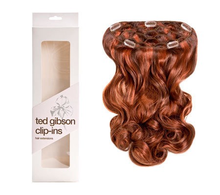 "Ted Gibson Full Head Hair Extension w/2 SidePieces""Deborah"""
