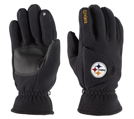 NFL Pittsburgh Steelers Winter Gloves — QVC.com