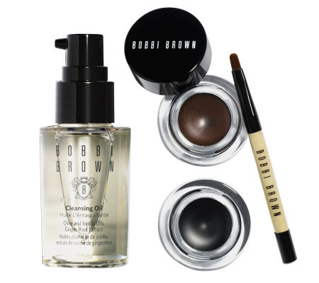 Bobbi Brown Long Wear Look Gel Eyeliner Duo with Brush