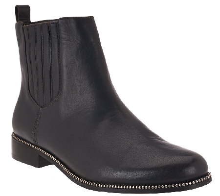 Aimee Kestenberg Leather Chelsea Ankle Boots - Emily