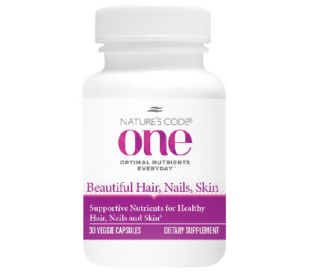 Nature's Code ONE 30day Hair, Skin, and Nails Supplement