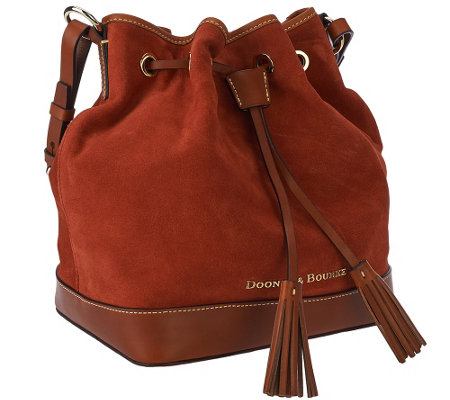 Dooney & Bourke Suede Drawstring Bag