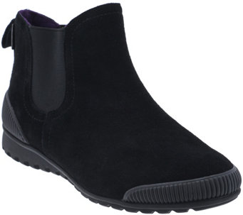 """As Is"" Cougar Waterproof Suede Chelsea Boots - Exceed - A277717"