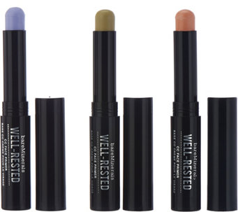 bareMinerals Well-Rested CC Face Color Correcting Trio - A278717