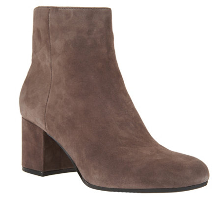 Marc Fisher Suede Ankle Boots - Wishful