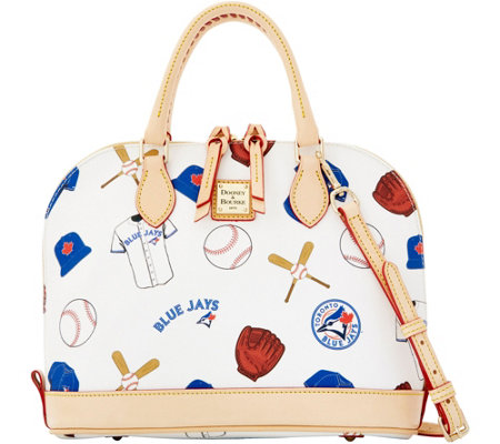 Dooney & Bourke MLB Blue Jays Zip Zip Satchel