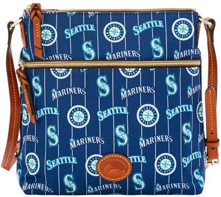 Dooney & Bourke MLB Nylon Mariners Crossbody