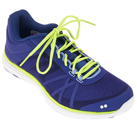 """As Is"" Ryka Lace-up Training Sneakers - Dynamic II"