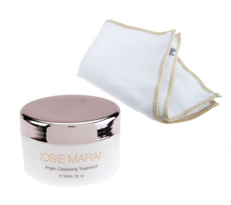 """As Is"" Josie Maran Argan Cleansing Treatment Dual Sided Cloth"