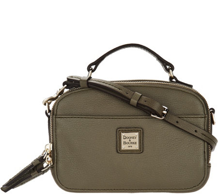 Dooney & Bourke Belvedere Leather Crossbody Handbag