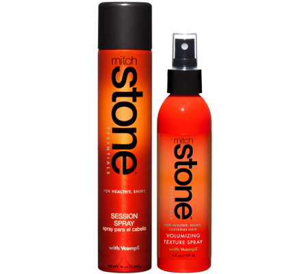 Mitch Stone Volume Texturizer and Session Hairspray Duo