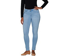 Laurie Felt Silky Denim Pull On Ankle Skinny Jeans - A301117
