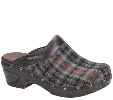 Sofft Cold Weather Leather Clogs - Bellrose