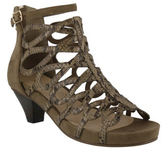 Azura by Spring Step Caged Sandals - Lydney - A339717