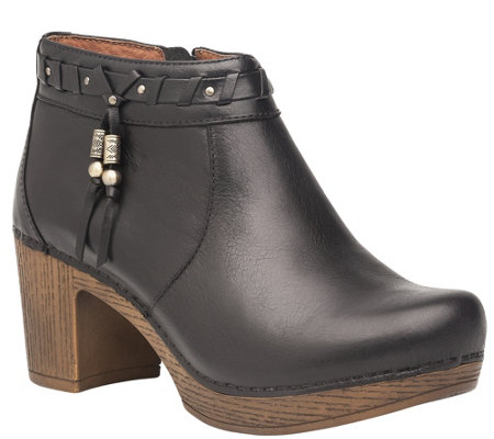 Dansko Leather Ankle Boots - Dabney
