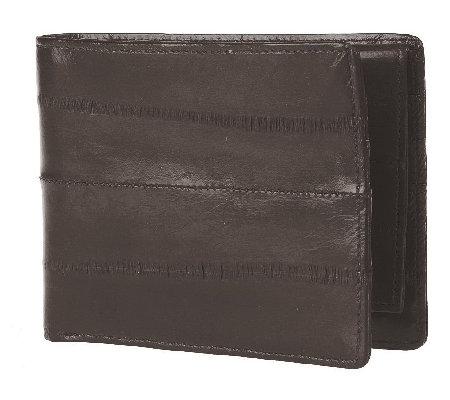Lee Sands Men's Eelskin Bi-fold Wallet