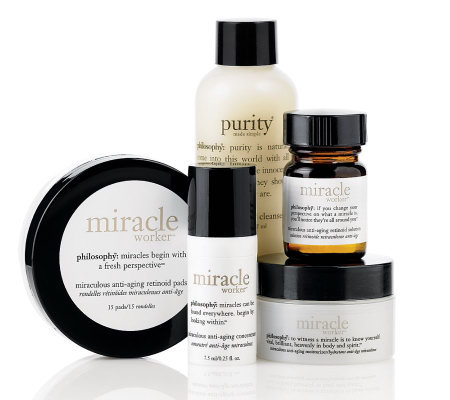 philosophy miracle worker 15-day skincare challenge 4-piece system