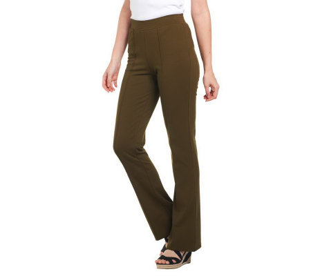 Isaac Mizrahi Live! IM Fabulous Regular Ponte Knit Pants