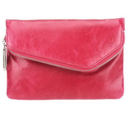 Hobo Leather Zara Convertible Wallet Clutch