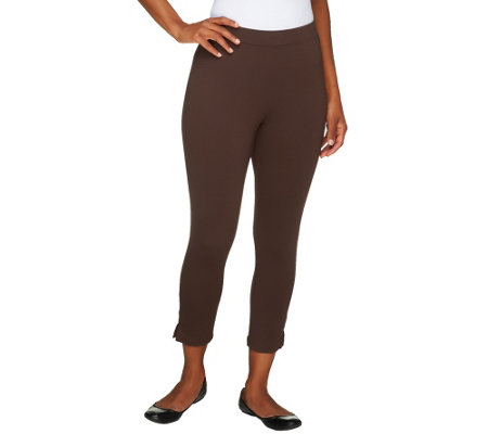 Liz Claiborne New York Pull-on Ponte Knit Crop Leggings