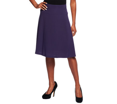 Women with Control Tummy Control A-Line Jersey Skirt - Page 1 ...