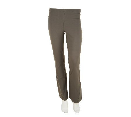 Women with Control Regular Low Bell Pants w/ Godet Detail