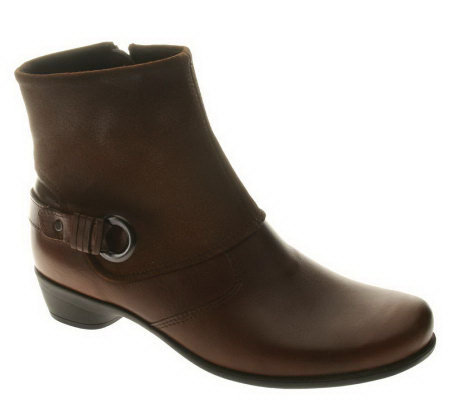 Spring Step Pamela Leather Ankle Boots